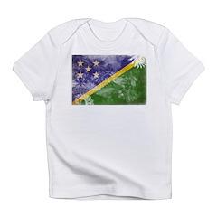 Solomon Islands Flag Infant T-Shirt