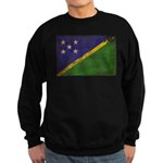Solomon Islands Flag Sweatshirt (dark)
