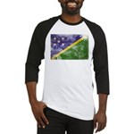 Solomon Islands Flag Baseball Jersey