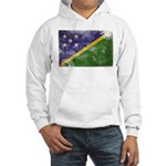 Solomon Islands Flag Hooded Sweatshirt
