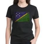 Solomon Islands Flag Women's Dark T-Shirt