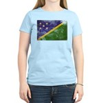 Solomon Islands Flag Women's Light T-Shirt