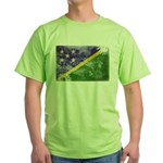 Solomon Islands Flag Green T-Shirt