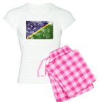 Solomon Islands Flag Women's Light Pajamas