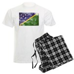 Solomon Islands Flag Men's Light Pajamas