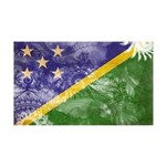 Solomon Islands Flag 38.5 x 24.5 Wall Peel