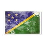 Solomon Islands Flag Car Magnet 20 x 12