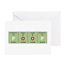 Chemistry Poop Greeting Cards (Pk of 10)