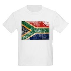 South Africa Flag Kids Light T-Shirt