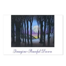 Imagine Peaceful Dawn Postcards (Package of 8)