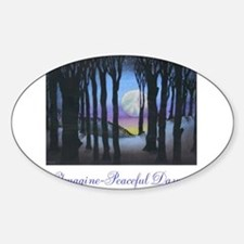 Imagine Peaceful Dawn Decal