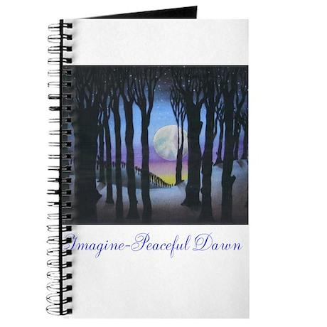 Imagine Peaceful Dawn Journal