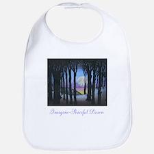 Imagine Peaceful Dawn Bib