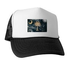 South Carolina Flag Trucker Hat