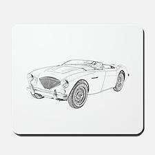 1953 Austin-Healey 100 Mousepad