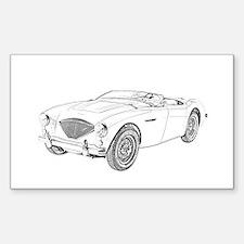 1953 Austin-Healey 100 Decal