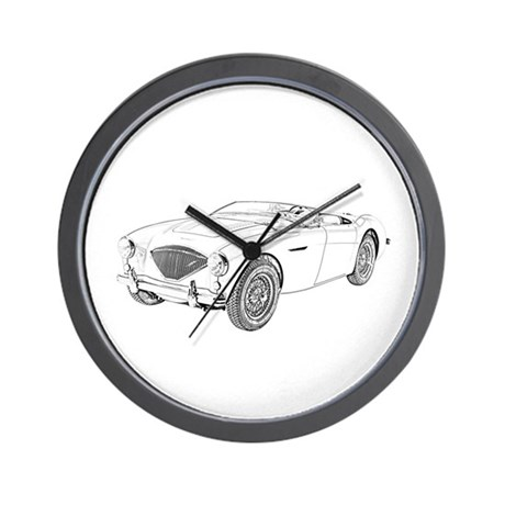 1953 Austin-Healey 100 Wall Clock