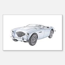 1953 Austin-Healey 100 Sticker (Rectangle)