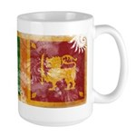 Sri Lanka Flag Large Mug