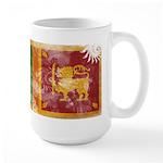 Sri Lanka Flag Large Mug