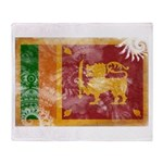 Sri Lanka Flag Throw Blanket