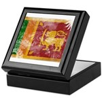 Sri Lanka Flag Keepsake Box