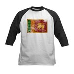 Sri Lanka Flag Kids Baseball Jersey