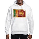 Sri Lanka Flag Hooded Sweatshirt