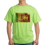 Sri Lanka Flag Green T-Shirt