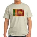 Sri Lanka Flag Light T-Shirt