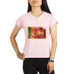 Sri Lanka Flag Performance Dry T-Shirt