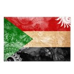 Sudan Flag Postcards (Package of 8)