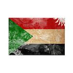 Sudan Flag Rectangle Magnet (100 pack)
