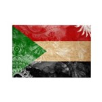 Sudan Flag Rectangle Magnet (10 pack)