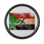 Sudan Flag Large Wall Clock