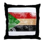 Sudan Flag Throw Pillow