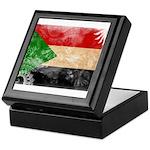 Sudan Flag Keepsake Box