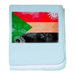 Sudan Flag baby blanket