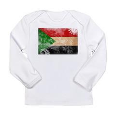 Sudan Flag Long Sleeve Infant T-Shirt