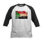 Sudan Flag Kids Baseball Jersey
