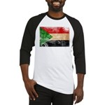Sudan Flag Baseball Jersey