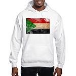 Sudan Flag Hooded Sweatshirt