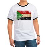 Sudan Flag Ringer T