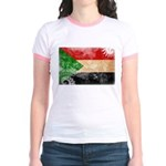 Sudan Flag Jr. Ringer T-Shirt