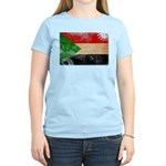 Sudan Flag Women's Light T-Shirt