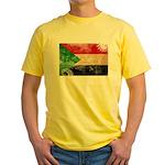 Sudan Flag Yellow T-Shirt