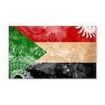 Sudan Flag 22x14 Wall Peel