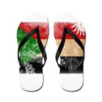 Sudan Flag Flip Flops