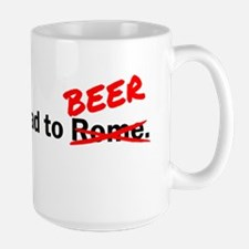 All roads lead to beer Mug