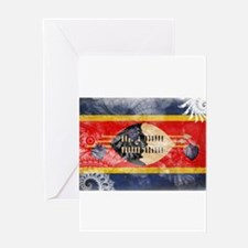 Swaziland Flag Greeting Card
